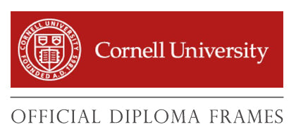 Cornell University custom diploma frames and displays