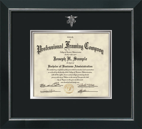 Dnp Embossing On Custom Certificate And Diploma Frames