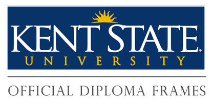 Return to Kent State University diploma frames collection