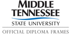 MTSU graduation diploma coleection logo