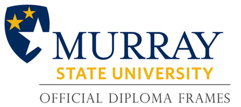Murray State University diploma frames page