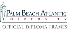 Palm Beach Atlantic diploma frames logo