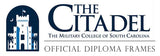 The Citadel diploma frames and displays