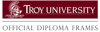 The Troy University diploma frames collection