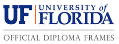 University of Florida diploma frames logo