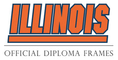 University of Illinois fiploma frame logo