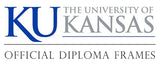 University of Kansas diploma frames logo
