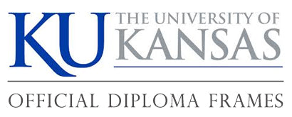 University of Kanasa diploma frame logo