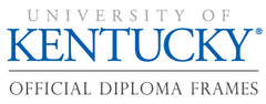 University of KY Diploma frames logo
