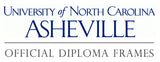 University of North Carolina Asheville diploma frames
