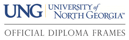 University of North Georgia diploma frames page