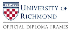 University of Richmond diploma frames logo