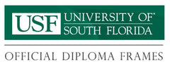 University of South Florida - USF - Diploma custom diploma frame collection