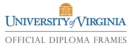 University of Virginia diploma frames page