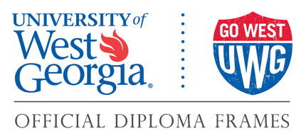 University of West Georgia diploma frames page