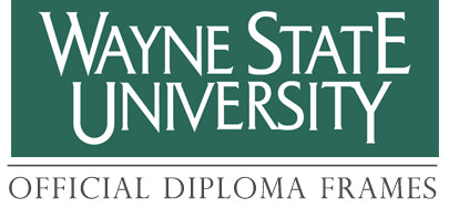 Wayne State University Diploma Frames Collection