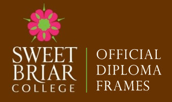 View all Sweet Briar College diploma frames and displays