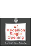View all UNG frames with medallion and school name embossing - single opening