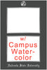 View all Virginia Tech diploma frames with campus watercolor
