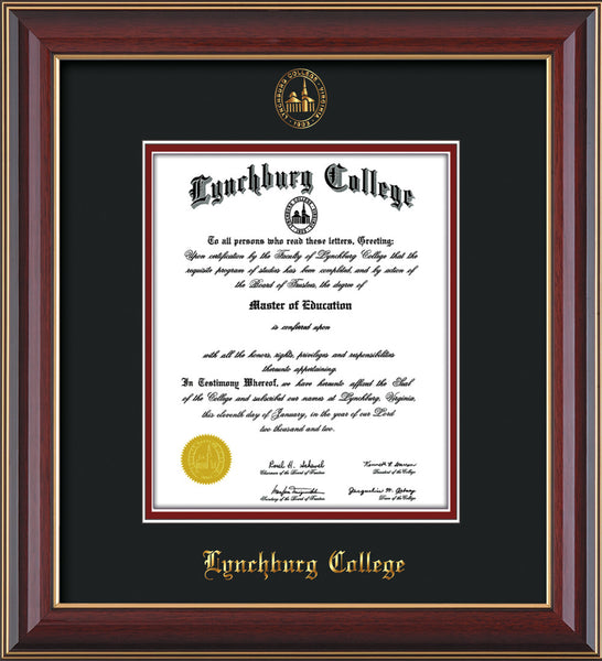 Lynchburg College diploma frames | Professional Framing Company ...