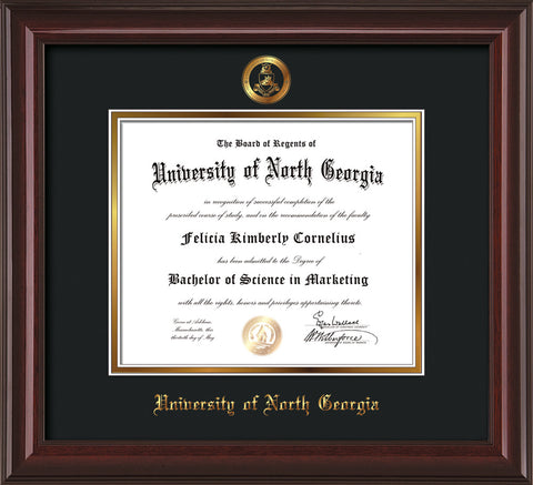 University of North Georgia Diploma Frames and Custom UNG Displays ...