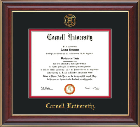 Cornell University Diploma Frames and Custom Graduation Displays ...