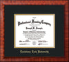 Image of Louisiana Tech University Diploma Frame - Mezzo Gloss - w/Laser Etched School Name Only - Black on Gold mat