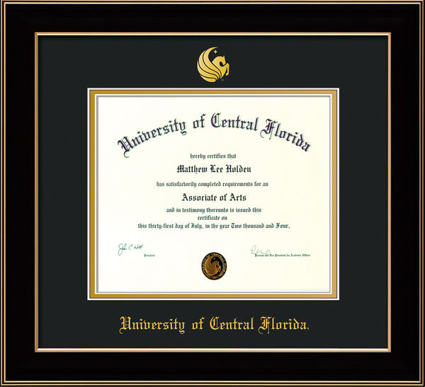 University Of Central Florida Diploma Frame C Lacquer Seal