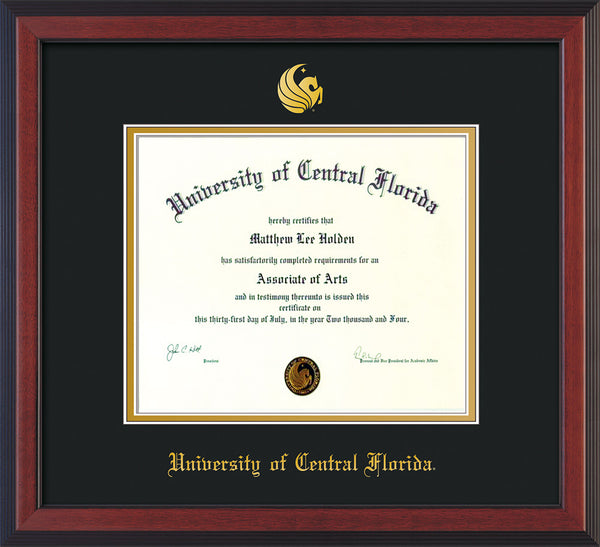 University Of Central Florida Diploma Frames Ba Ma And