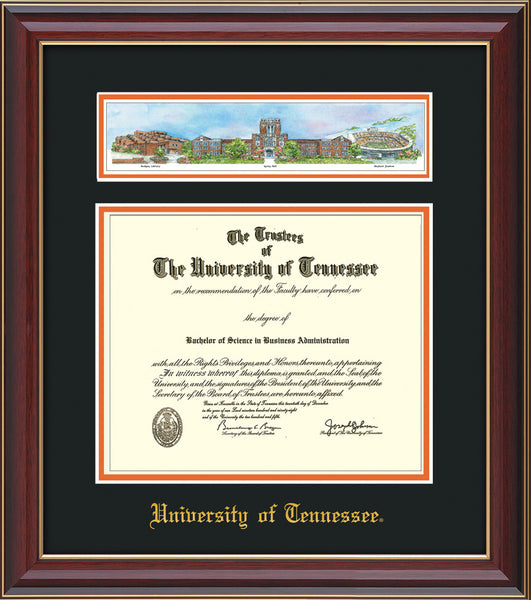 University of Tennessee diploma frames | Online Framing & Gifts ...