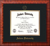 Image of Auburn University Diploma Frame - Mezzo Gloss - w/Embossed Seal & Name - Black on Gold mat