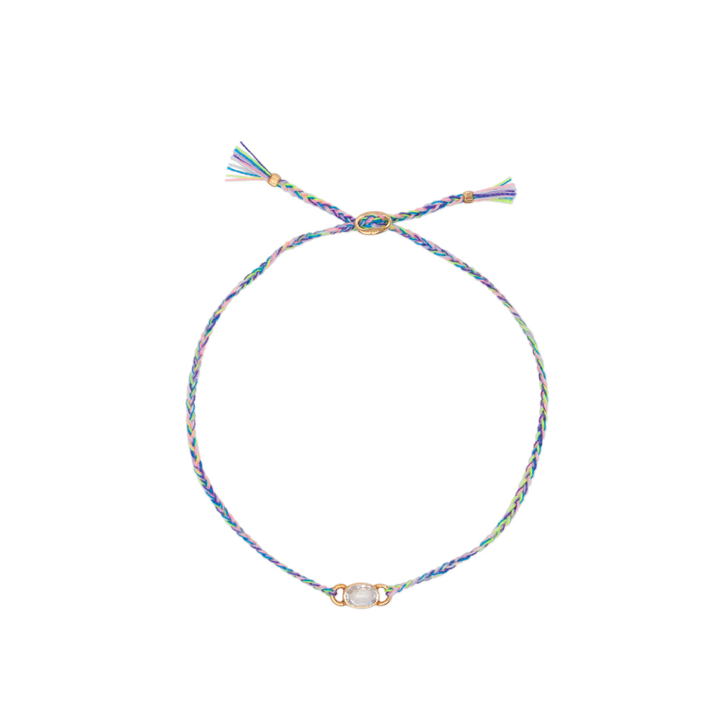 Birthstone Rainbow Moonstone Bracelet - Jewel Rocks