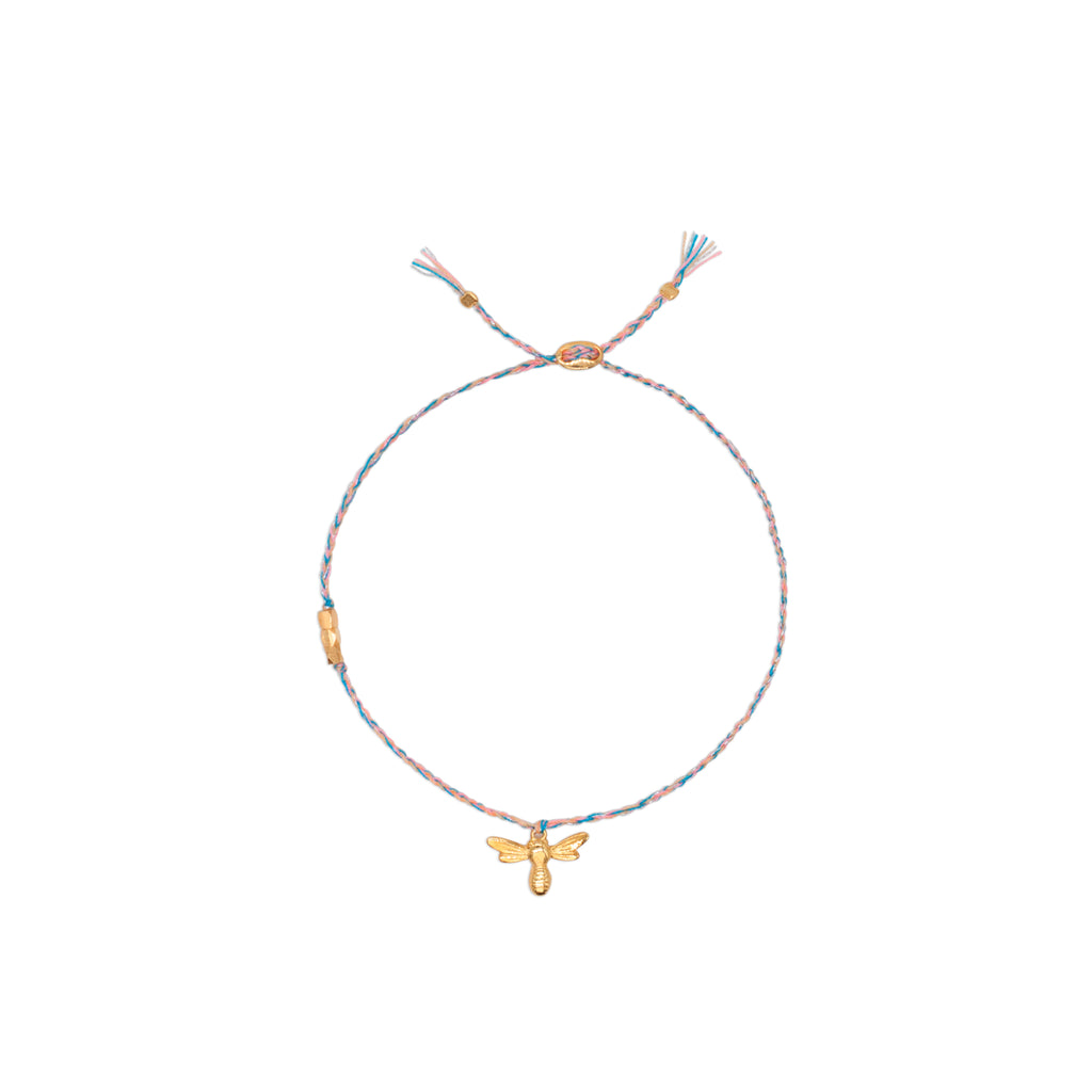 Honey Bee Omega Bracelet - Jewel Rocks
