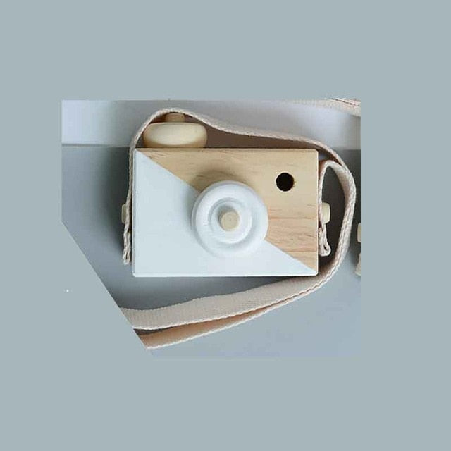 Wooden Camera Room Decor