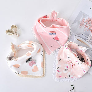 3-Pack Newborn Princess Bibs