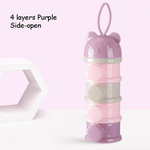 3 / 4 layers Bear Style Baby Food Storage