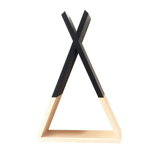 Nordic Wooden Storage Rack For Kids Room