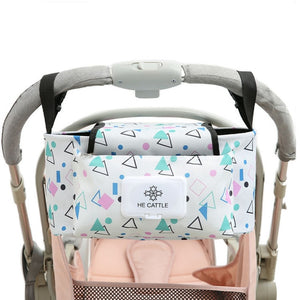 Stroller Organizer Bag & Bottle Holder