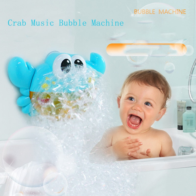 Mr Crab Music Bubble Maker