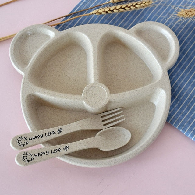 Set Of Baby bowl+spoon+fork