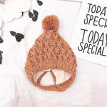 Knitted Beanie For Autumn