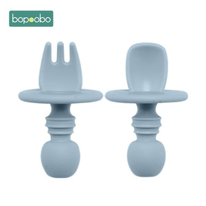 2-Pack Silicone Spoon & Fork