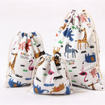 Animal Printed Storage Bags