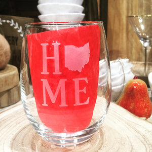 Home Stacked Stemless Wine Glass
