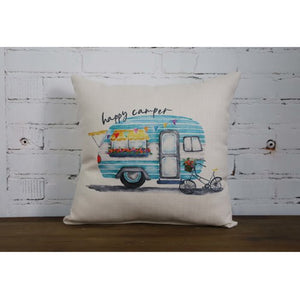 Our Happy Camper Pillow