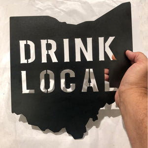 Steel Drink Local Ohio - 12""
