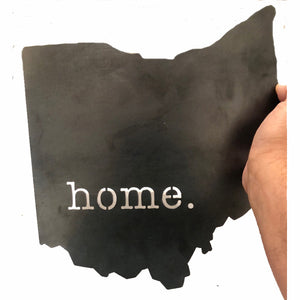 Steel home. Ohio - 12""