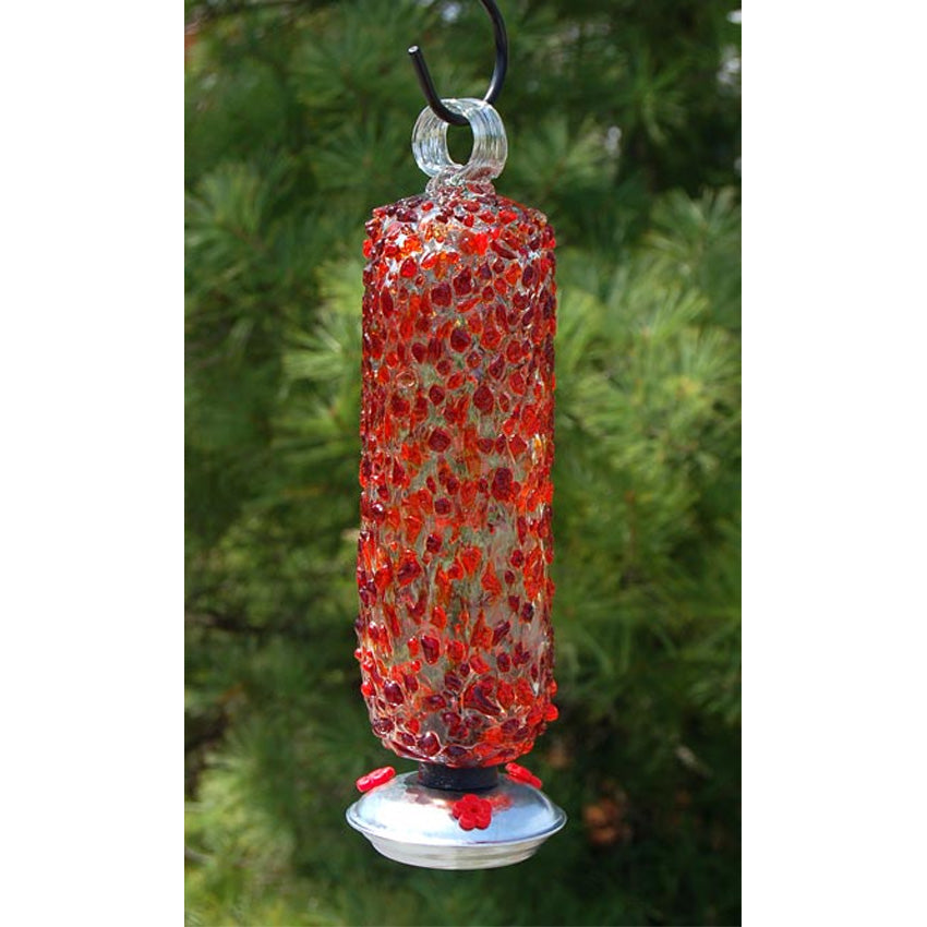 Filigree Hummingbird Feeder - Cinnabar Sprinkles