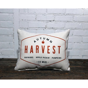 Autumn Harvest Pillow
