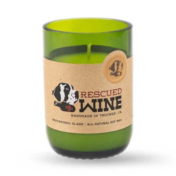 Rescued Wine Riesling Soy Candle 12 oz - 80hr burn